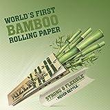 Papier à rouler Rizla Bamboo King Size - Le premier papier bambou au monde 50 Packs