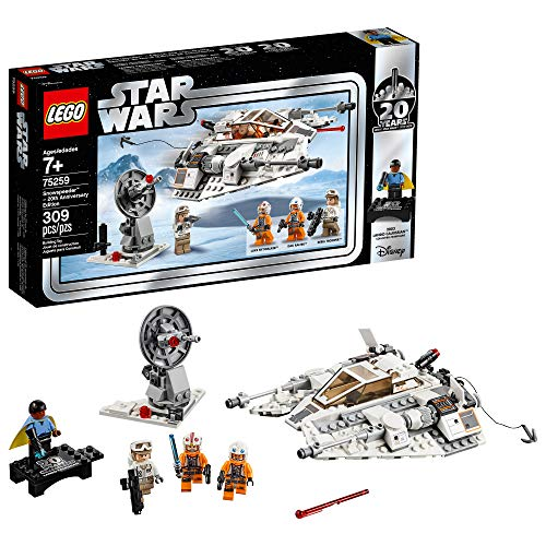 LEGO Star Wars: The Empire Strikes Back Snowspeeder - 20th Anniversary Edition 75259 Building Kit (309 Pieces)