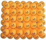 TADICK 100 Pack Orange 3-Star 40+ Quality Training Ping Pong Ball Premium Table Tennis Balls