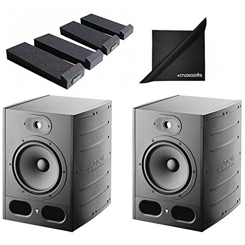 Purchase Focal Alpha 80 Active 2-Way 8 Near Field Professional Monitoring Speakers (Pair) with Mopa...