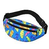 Cangurera Waist Bag Riñonera Holográfica para Hombre Sport Run Riñonera Bolso Bandolera para Hombre Bolso Bandolera De Moda Monedero para Teléfono Bolsa para Ci