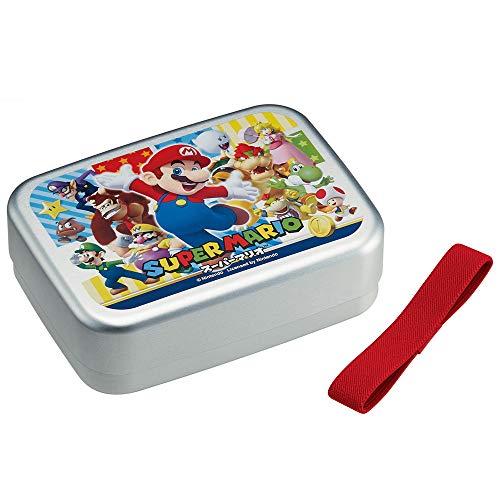 Caja de almuerzo aluminio Mario para niños 480ml ALB6NV hecho en Japón