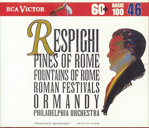 Price comparison product image Respighi: Pines of Rome / Fountains of Rome / Roman Festivals