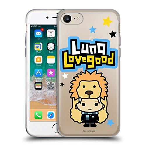 Head Case Designs Licenciado Oficialmente Harry Potter Luna Lovegood Deathly Hallows XLV Carcasa de Gel de Silicona Compatible con Apple iPhone 7 / iPhone 8 / iPhone SE 2020