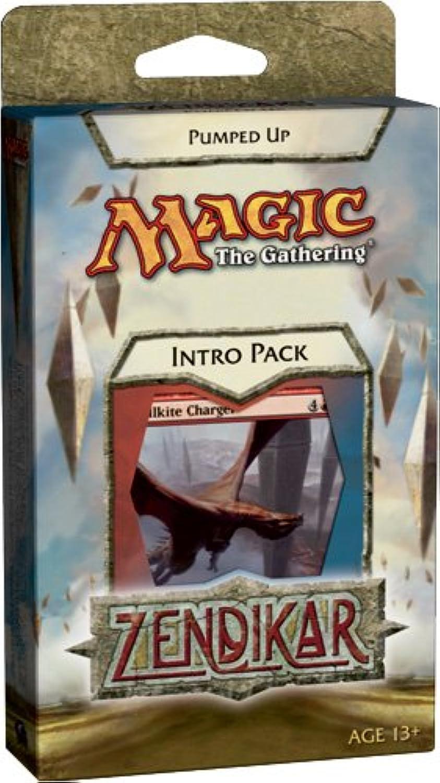 Magic the Gathering - MTG  Zendikar Theme Deck - Intro Pack  Pumped Up (rot Blau) B002R2NOW0 Qualitätskönigin    | Sofortige Lieferung