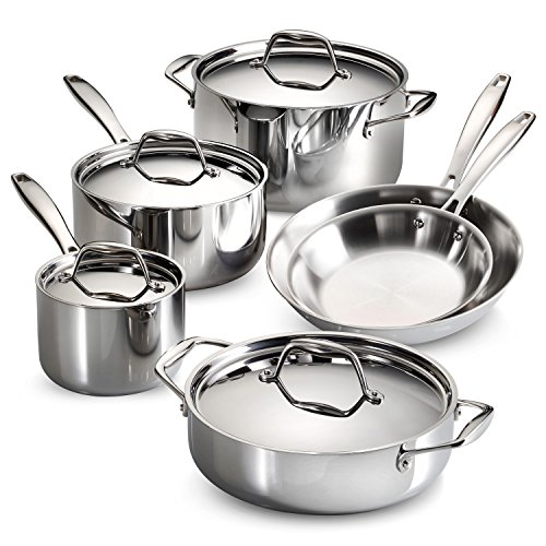 Tramontina tri-ply clad cookware set review