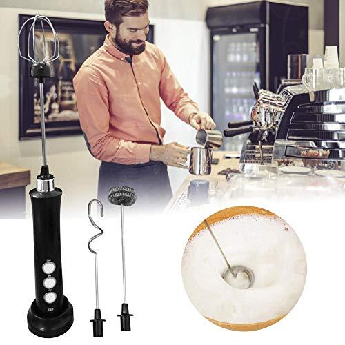 SNIIA melkopschuimer handheld, USB oplaadbaar 3 snelheden mini elektrische melkschuim maker mixer mixer voor cappuccino, latte, kogelvrije koffie, keto-dieet, eiwitpoeder, Matcha remarkable