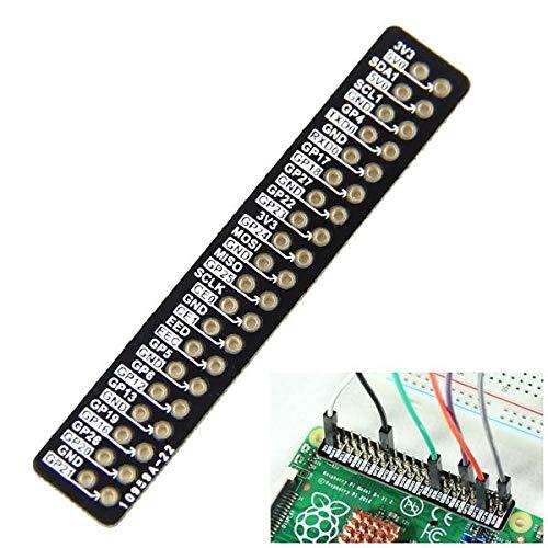 weichuang Elektronisches Zubehör Pin Referenz Board für RPi 2 Modell B & RPi B+ GPIO Elektronisches Zubehör Elektronisches Zubehör