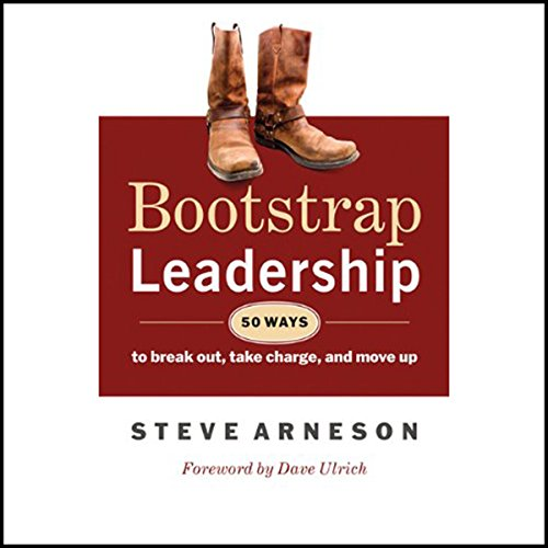 Bootstrap Leadership audiobook cover art