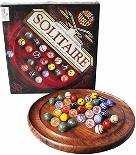 Deluxe Wooden Solitaire by House of Marbles