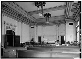 HistoricalFindings Photo: Hudson County Courthouse,583 Newark Avenue,Jersey City,New Jersey,NJ,HABS,22