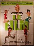 Spice Girls Poster Folie, gebogen, 116 x 158 cm// Poster
