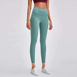 Yoga Pants Women High Waist Tight Elastic Running Fitness Pants,Light Blue(4)