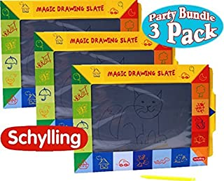 Schylling Magic Slate Drawing Pads Party Pack Bundle - by Schylling
