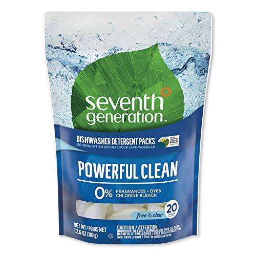 Detergente para lavavajillas - Capsulas Seventh Generation