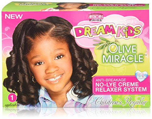 African Pride Dream Kids Olive Miracolo No Lye Relaxer Regular