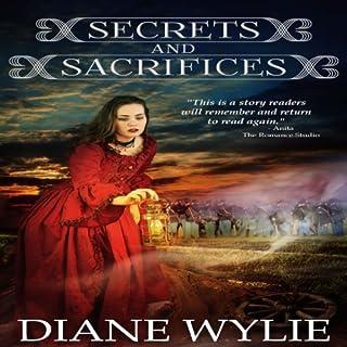 Secrets and Sacrifices audiobook cover art