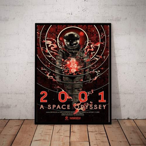 Quadro 2001 Uma Odisseia No Espaço Arte Poster Moldurado