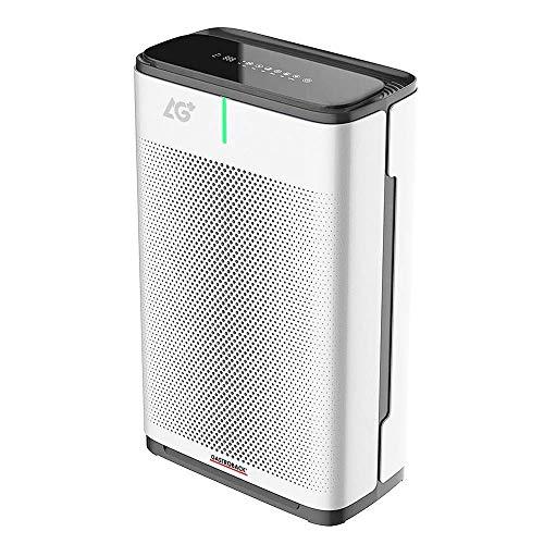 GASTROBACK # 20100 - Purificatore d'aria AG+ AirProtect, AG+ Filtro Antiviral Technology, adatto per ambienti fino a 50 m², ideale per persone allergiche e asmatiche