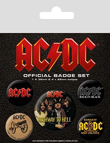 Preisvergleich Produktbild AC / DC BP80494 Abzeichen,  Mehrfarbig,  10 x 12.5 cm