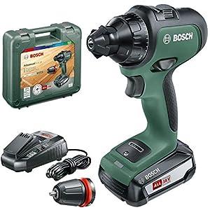 51QOnGPYL2L. SS300  - Bosch Taladro/atornillador a batería AdvancedDrill 18 Set, sistema de 18 voltios, 2 baterías, 3 accesorios, en maletín de transporte