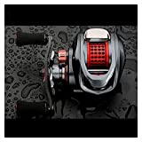 Spinning Fishing Reel The New Aluminum Alloy Universal Water Drop Wheel, Enhanced Version, Ultra-light and Super-hard Metal Long Cast Wheel Fishing Reel ( Size : Style C is right-handed )