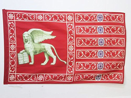 AZ FLAG Flagge VENEDIG 150x90cm - Venezia Fahne 90 x 150 cm Scheide für Mast - flaggen Top Qualität