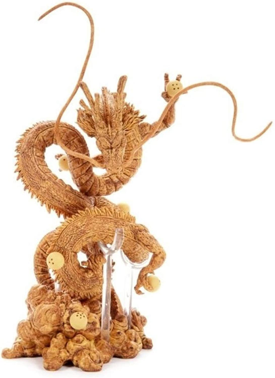 God Dragon gold Dragon PVC Action Model About 8.2 Inches