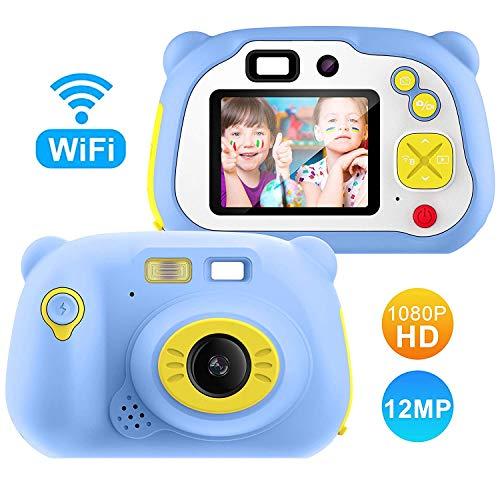 TOYSBBS kinderen fototoestel met 32 GB geheugenkaart, camera kinderen, digitale camera kinderen, waterdicht / 12.0MP / HD 1080P / 2 inch scherm/foto & video/frame/filter, geschenken voor kinderen