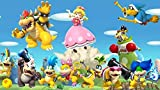 TTbaoz 1000 Rompecabezas para Adultos Super Mario Bros.-Varios pequeños Monstruos - 38 * 26 cm, Carteles incluidos-Rompecabezas Imposible-Marvel-Color-Juguetes educativos