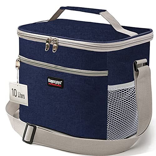 Lunch Bag 10L,Insulated Lunch Box for Men/Women,Reusable...