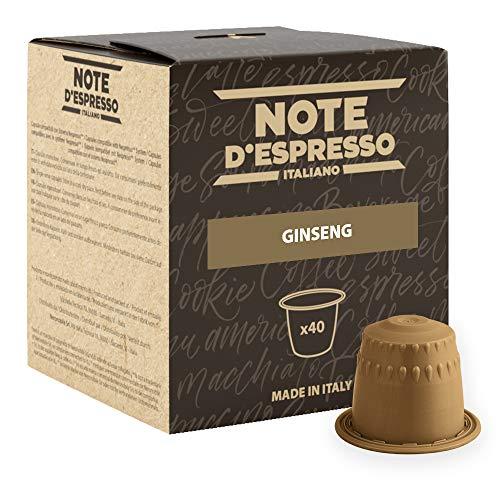 Note D'Espresso - Kapselmaschinen - ausschließlich Kompatibel mit Nescafé*- Ginseng - 4,3g x 40