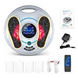 Medic Foot Wellness Machine (FDA) - EMS & TENS Feet and Legs Massager for Circulation & Neuropathy- Nerve Muscle Stimulator with Infrared Remote to Reduce Swelling Foot, Cramps and Body Pain Relief