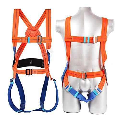 CXQD Arnés de Seguridad de Escalada - Cinturones de Seguridad para Montañismo para Hombre Mujer - Arnés Anticaídas de Montaña