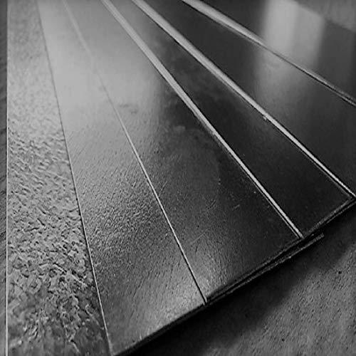 Flachstahl Flachmaterial Flacheisen V2A, V4A, Aluminium, Stahl, Edelstahl (Aluminium 1mm x 50mm x 1000mm)