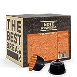 Note d'Espresso - Caramel Latte - Cápsulas para las Cafeteras Nescafe Dolce Gusto - 48 Unidades de 14 g
