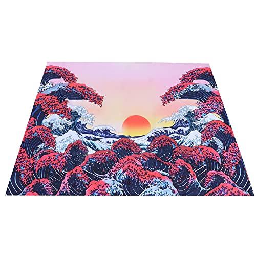 Hoseten Wandteppich, Exquisite atmungsaktive Mehrzweck-Strandtuchleuchte Langlebig Bequem für Zuhause als Hintergrunddekoration für den Außenbereich für Picknickdecken(150 * 150cm)