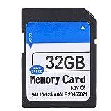 Dpofirs Tarjeta de Memoria SD con Adaptador 1G 2G 8G 16G 32G 64G, Tarjeta de Memoria Portátil de Alta Velocidad de Lectura y Escritura, Aplicable para MP3 MP4 Cámara SLR Máquina de Juego Altavoz(32G)