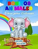 Bonitos Animales Libro para Colorear para Niños de 4 a 8 Años: 55 Ilustraciones Únicas para Colorear, un Maravilloso Libro de Animales para Adolescentes, Niños y Jóvenes, un gran Libro de Actividades de Animales para Niños y Jóvenes