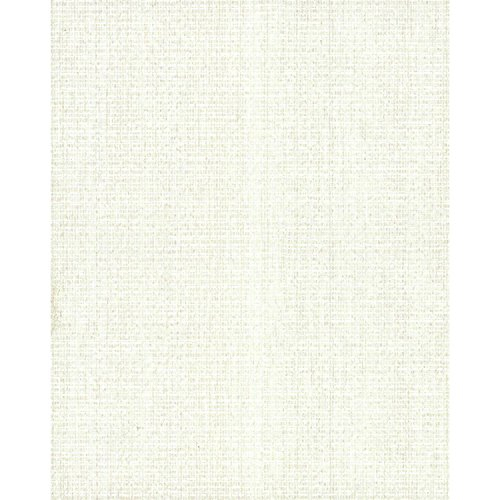 York Wallcoverings TN0032 Textural Linen Wallpaper, White/Off Whites