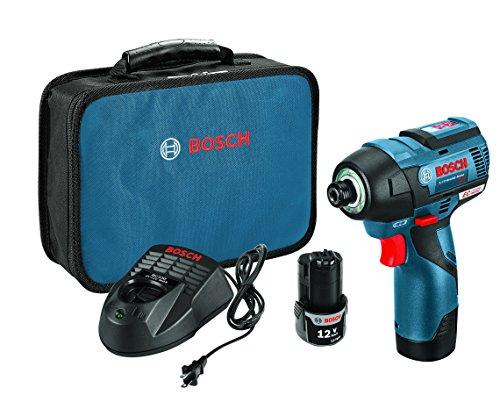 Bosch 12-Volt Max EC Cordless Impact Driver Kit PS42-02