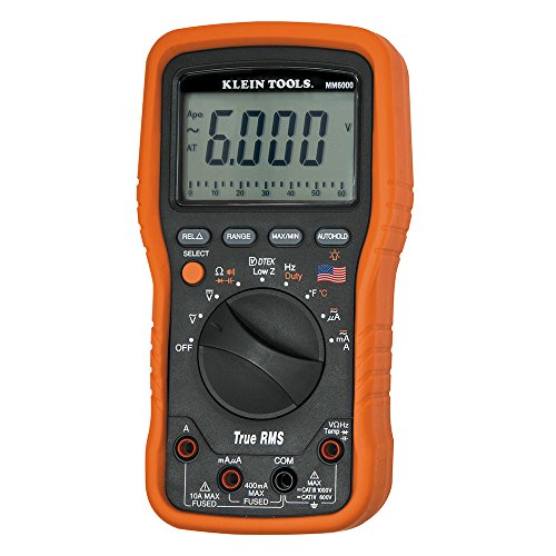 Klein Tools MM6000 Electrician's / HVAC TRMS Multimeter