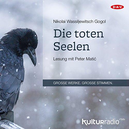 Die toten Seelen audiobook cover art