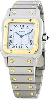 Cartier Santos Galbee Automatic Male Watch 2961 (Certified Pre-Owned)