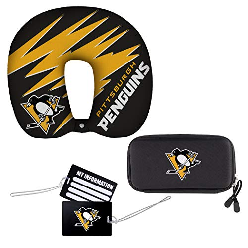 The Northwest Group NHL Pittsburgh Penguins Reise-Set, 4-teilig, 33 x 7,6 x 30,5 cm