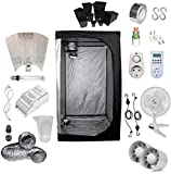 Kit Coltivazione Indoor 400W HPS Adjust-a-Wings - Grow Box 100x100x200...