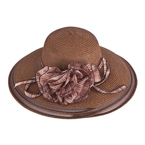 Lawliet Kentucky Derby - Pajilla para mujer Marrón marrón Talla única