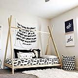 Twin Sized TeePee bed Handmade in US