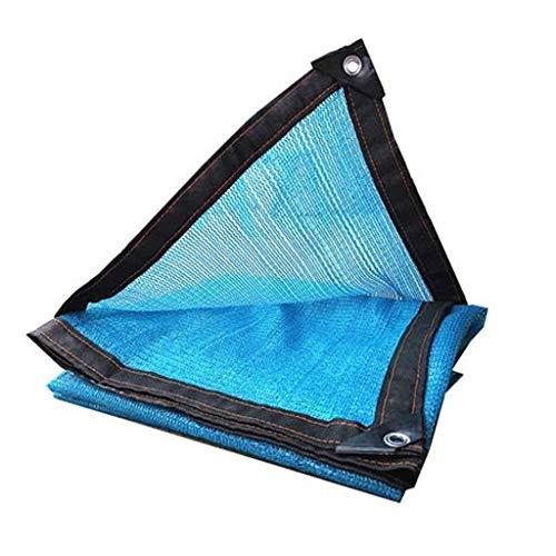 RFJJAL Schattentuch Shading Net Sunscreen 95% Shading Rate Sukkulente Gewächshaus Markise Polyethylen-Material, blau , Optional Multi-Größe (Size : 3 * 3M)