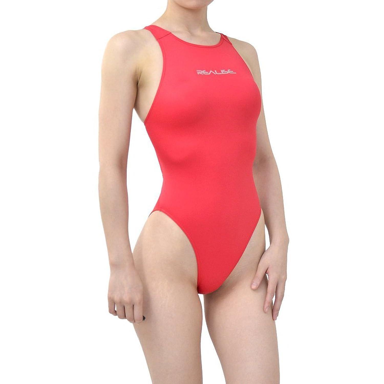 REALISE(リアライズ) 【N-011MINI 再入荷なし】【N-011 再入荷なし】 ワンピーススイムスーツ   Circular hole swimsuit(SSW) (S, Red)